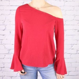 NWT Highline Collective one shoulder blouse r3